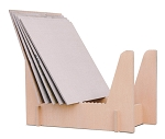 Qty (5 per box) CRADLE DISPLAYS Maple, Minimum 5 per pack