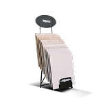 QTY (2) 10-Count Folding Flooring Display With Blank Header and Footer Signage Included